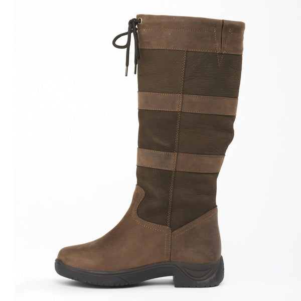Dublin River Boots in Chocolate inside 216701
