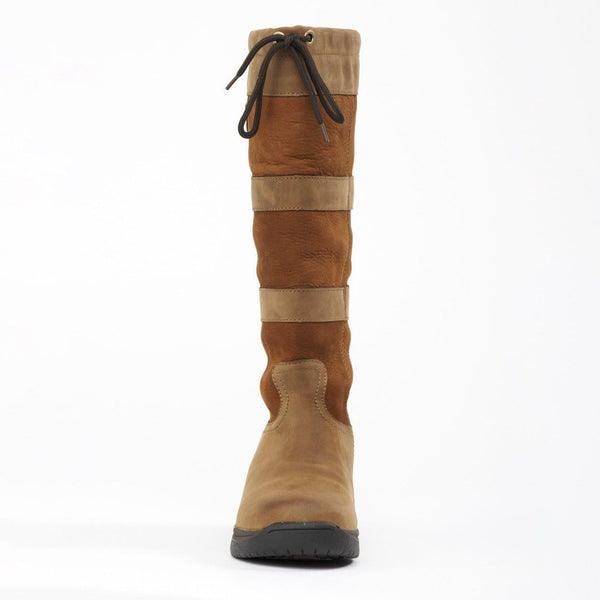 Dublin River Boots in Dark Brown Front 216692