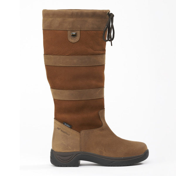 Dublin River Boots in Dark Brown Side 216692