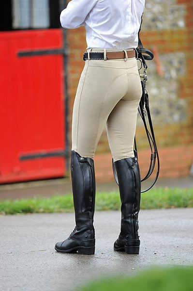 Dublin Supa Shape It Heritage Clarino Knee Ladies Breeches