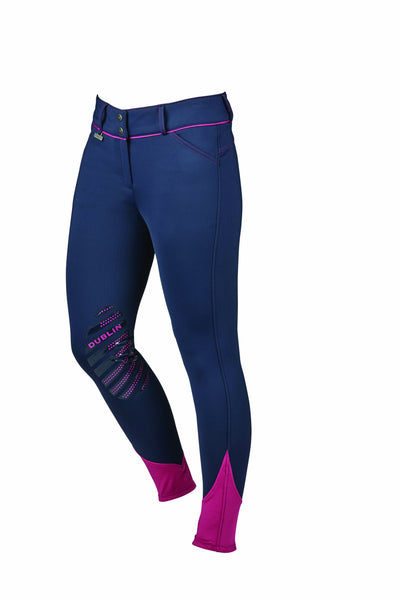 Dublin Thermal Breeches Studio Front Navy 805206