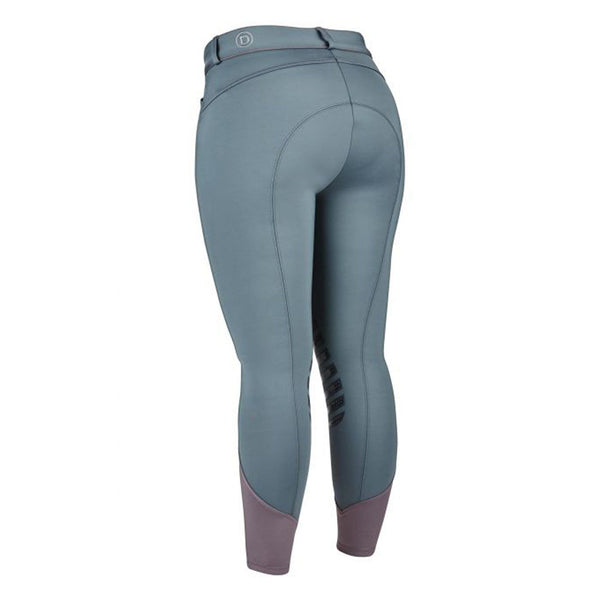 Dublin Thermal Gel Knee Patch Breeches Iron Rear