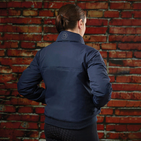 Dublin Trinity Jacket Navy Rear View 596776