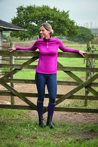 Dublin Warmflow Technical Top Fuchsia Lifestyle 803991