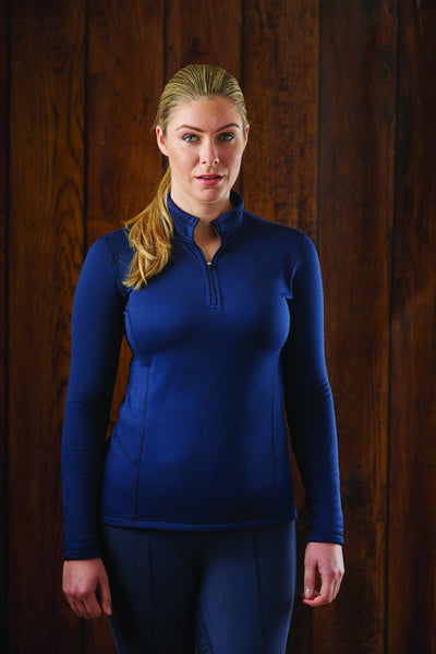 Dublin Warmflow Technical Top Navy 803984