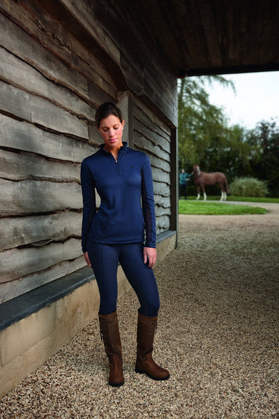 Dublin Warmflow Technical Top Navy Lifestyle 803984