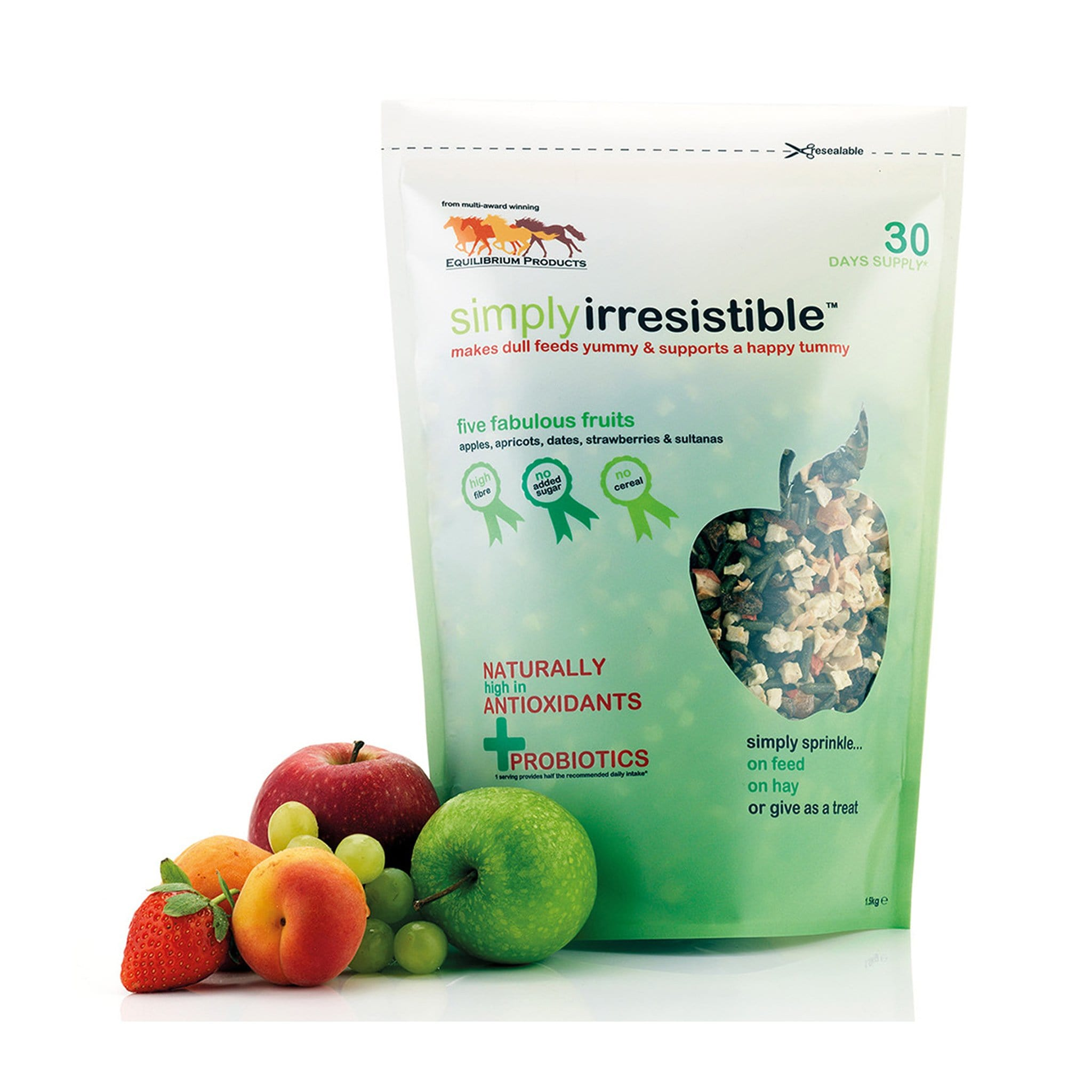 EQB0100 Equilibirum Simply Irresistible Fabulous Fruits 1.5 Kg