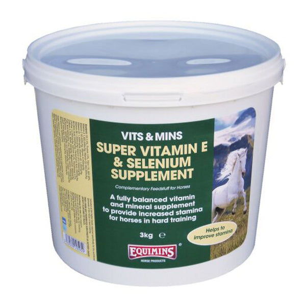 Equimins Super Vitamin E & Selenium Supplement eqs0107