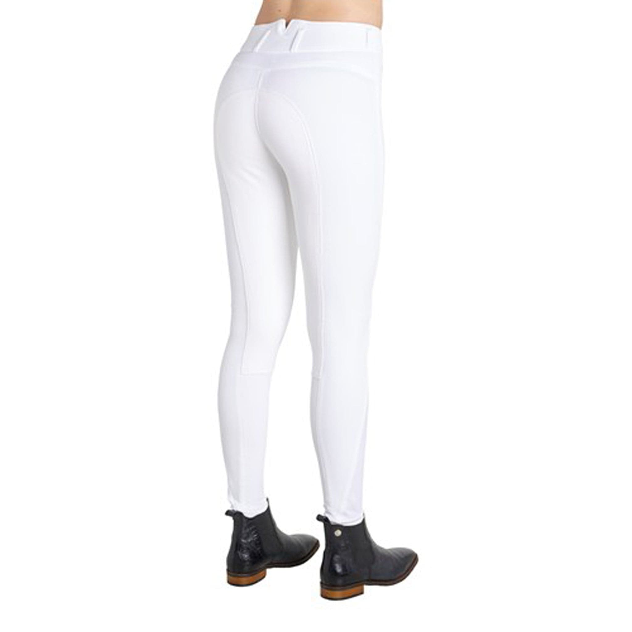Montar High Waist Alos Full Seat Breeches White 2078