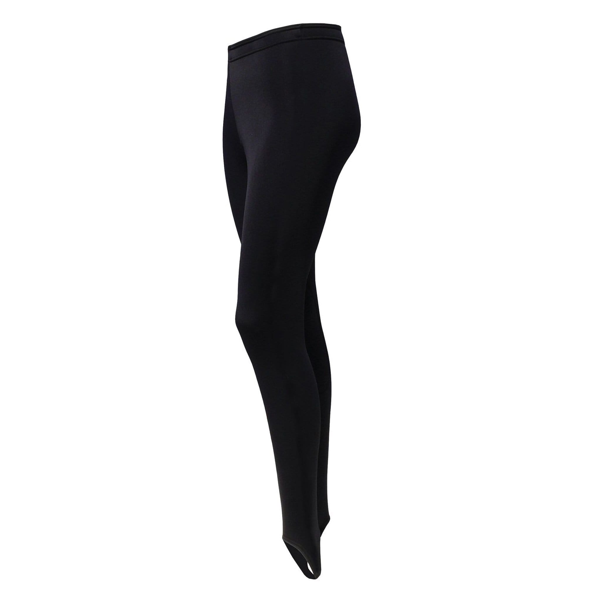 Equetech Children's Arctic Thermal Underbreeches Black JAB.