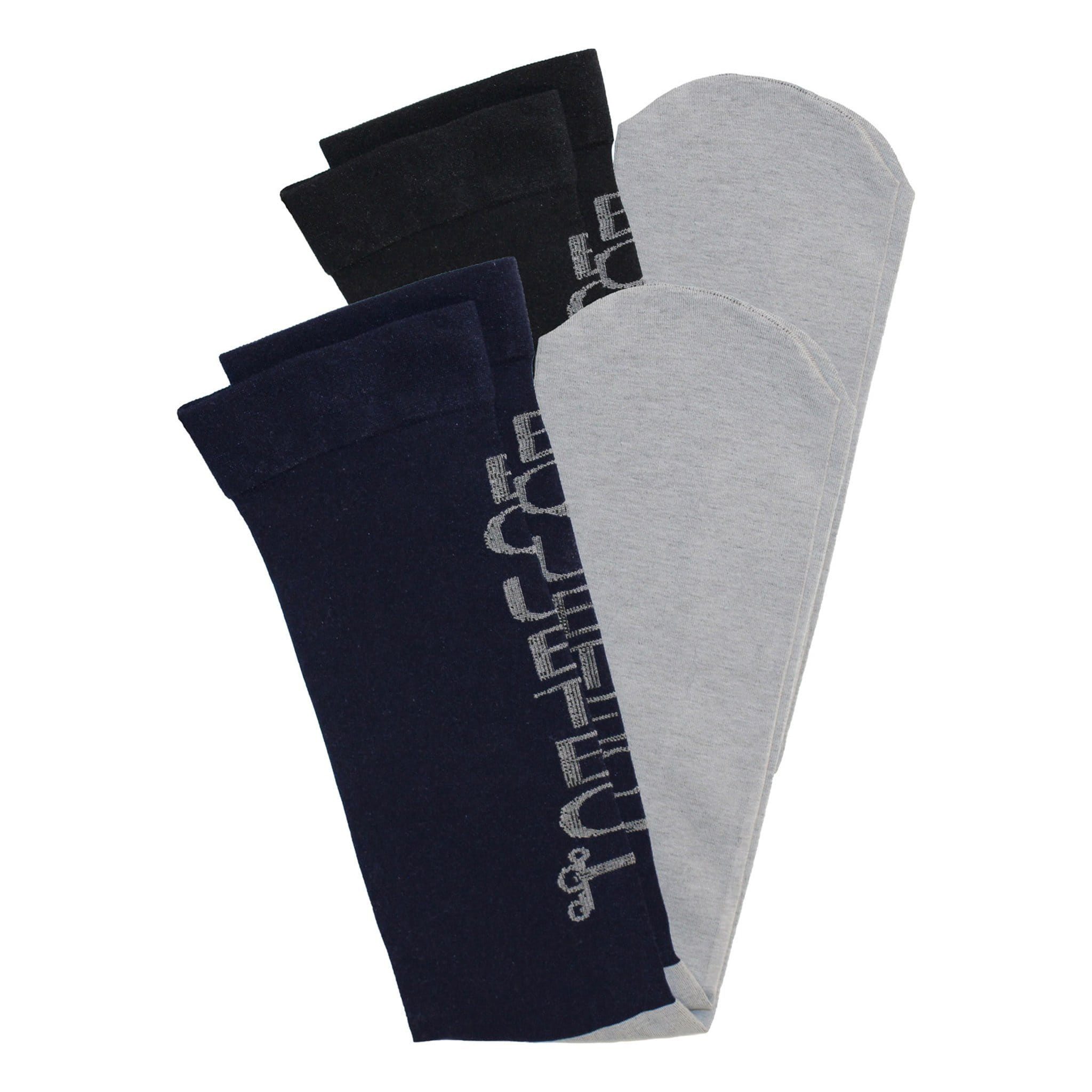 Equetech Performance Riding Socks 3 Pack SPX-1-MX.