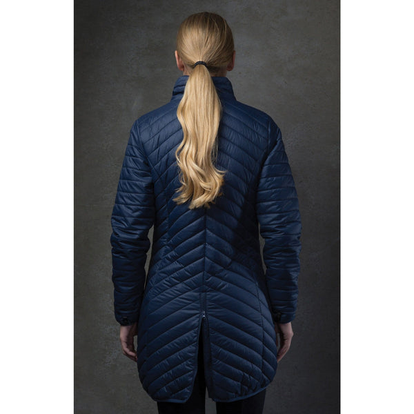 Equetech 3-in-1 Trilogy Jacket Inner Layer Rear View TRI