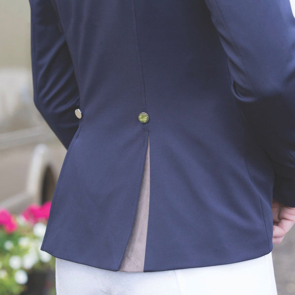 Equetech Affinity Competition Jacket Rear View AFJ