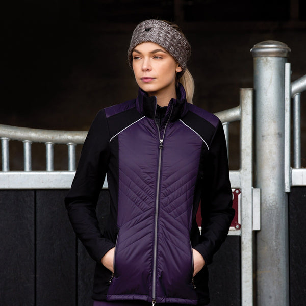 Equetech Apollo Quilted Soft-shell Jacket AQS