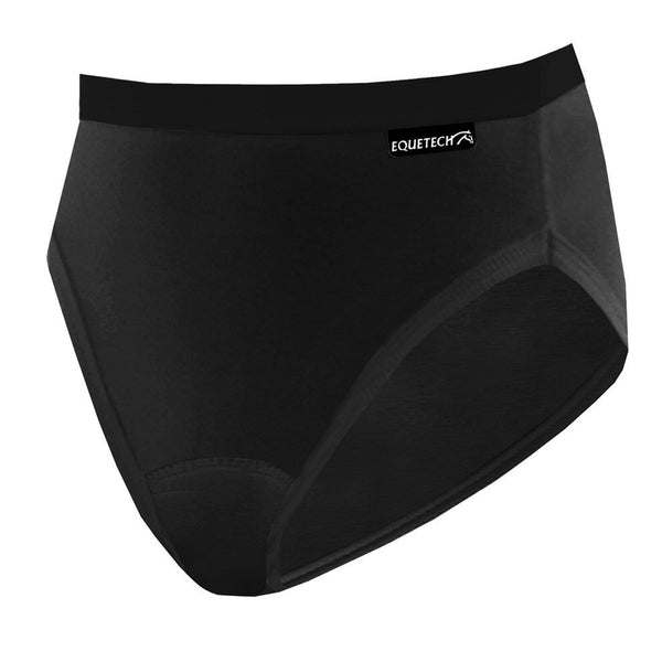 Equetech Bikini Brief in Black Studio C
