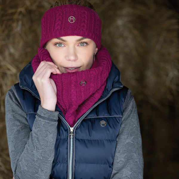 Equetech Cable Knit Loop Scarf