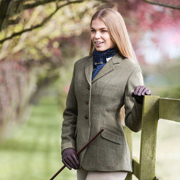Equetech Claydon Tweed Riding Jacket CTJ