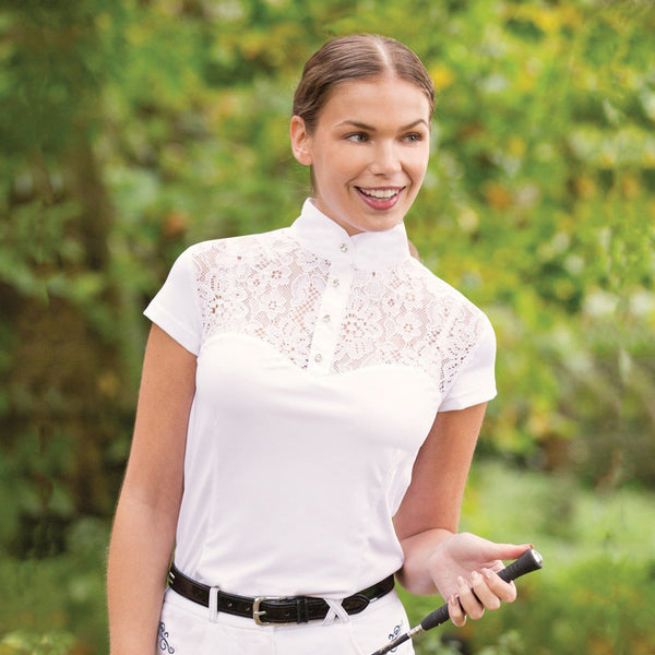 Equetech Florence Lace Competition Shirt Lifestyle FLO
