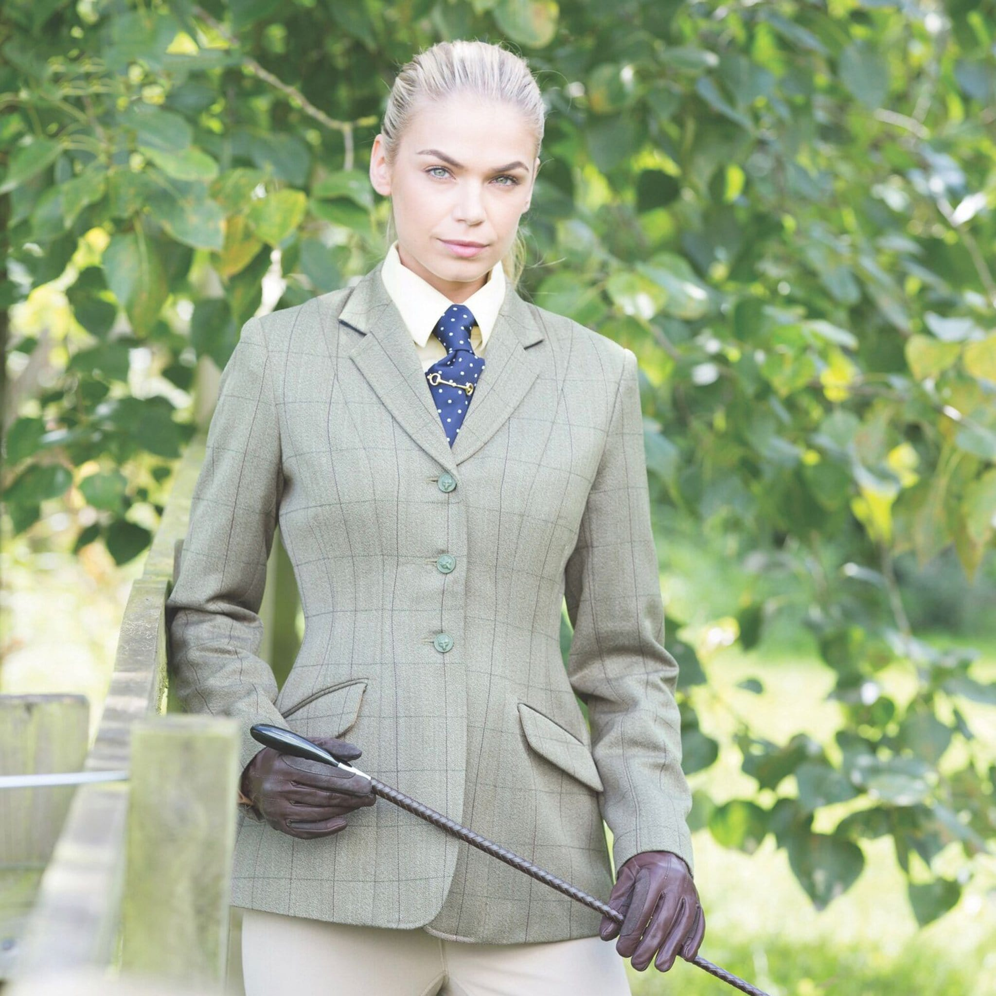 Equetech Foxbury Tweed Riding Jacket FBJ