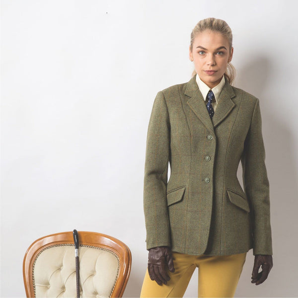 Equetech Foxbury Tweed Riding Jacket Studio FBJ