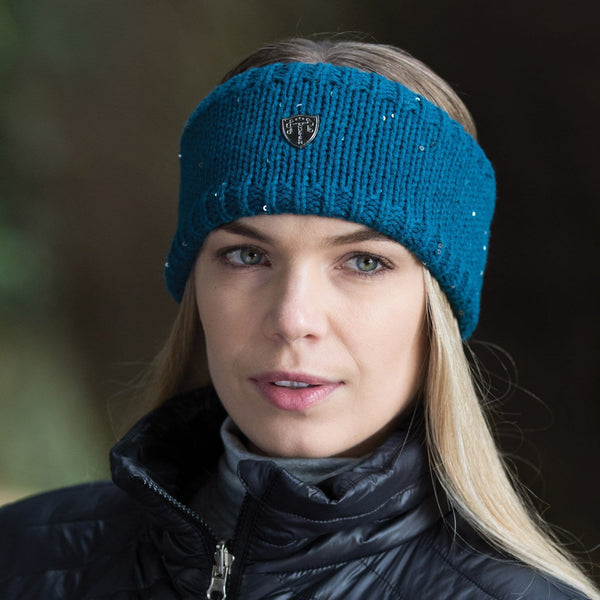 Equetech Frost Knit Headband in Teal