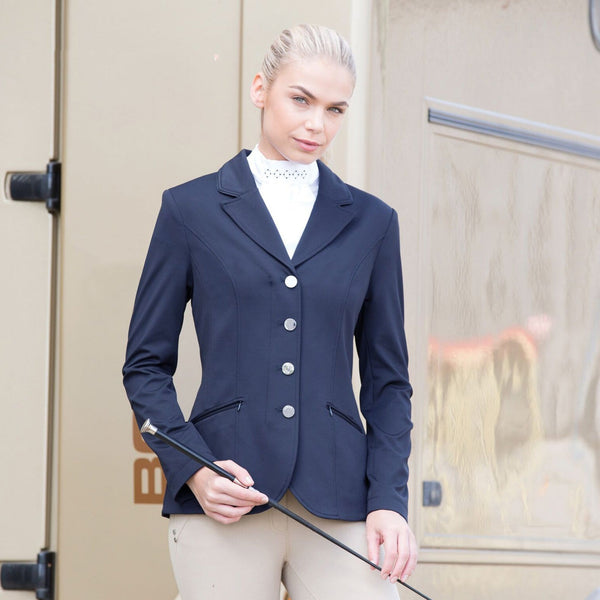 Equetech Jersey Competition Jacket Navy JSC