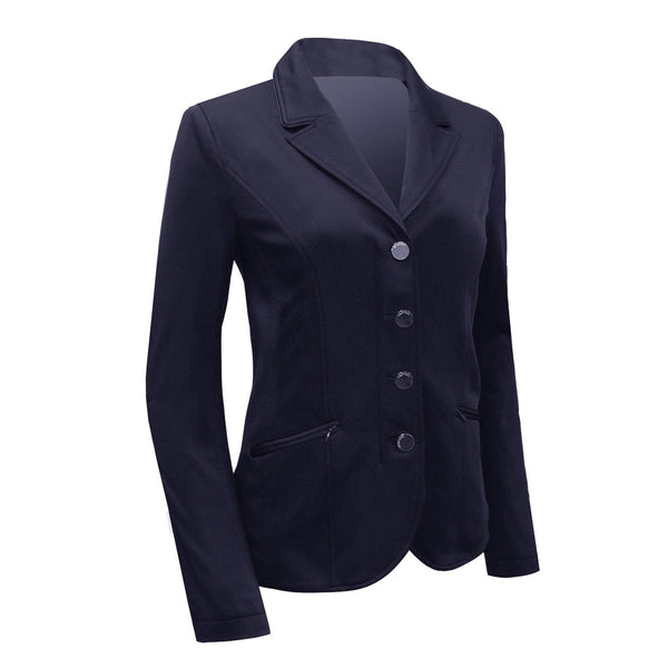 Equetech Jersey Competition Jacket Navy Studio JSC