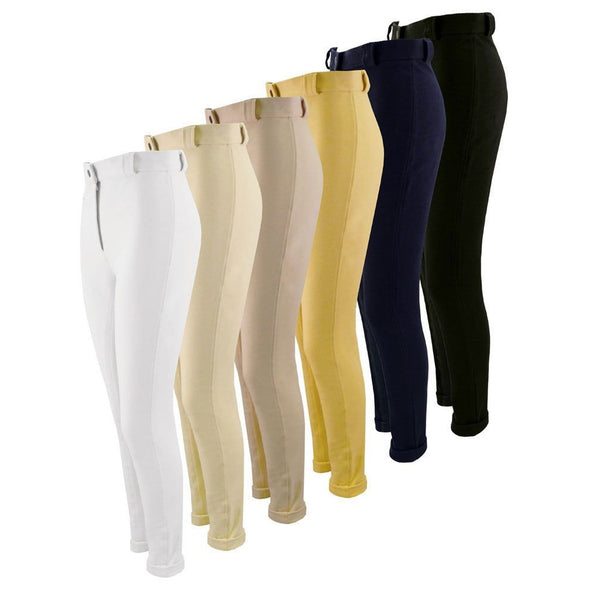 Equetech Junior Grip Seat Jodhpurs in all colours JGR