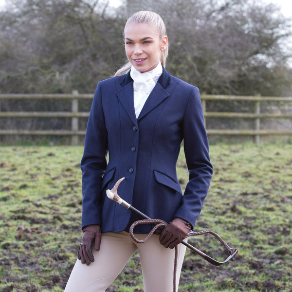 Equetech Kimblewick Wool Riding Jacket In Field KIM