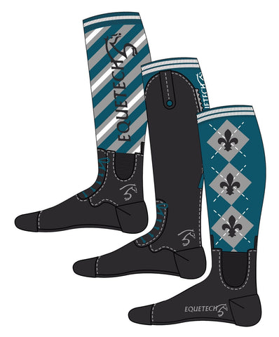 Equetech Knee Riding Boot Socks - EQUUS