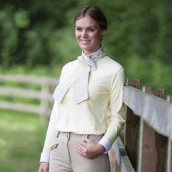 Equetech Ladies Foxhunter Shirt worn by a Model