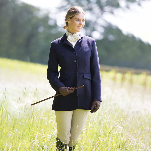 Equetech Hunt Wool Frock Coat in Navy