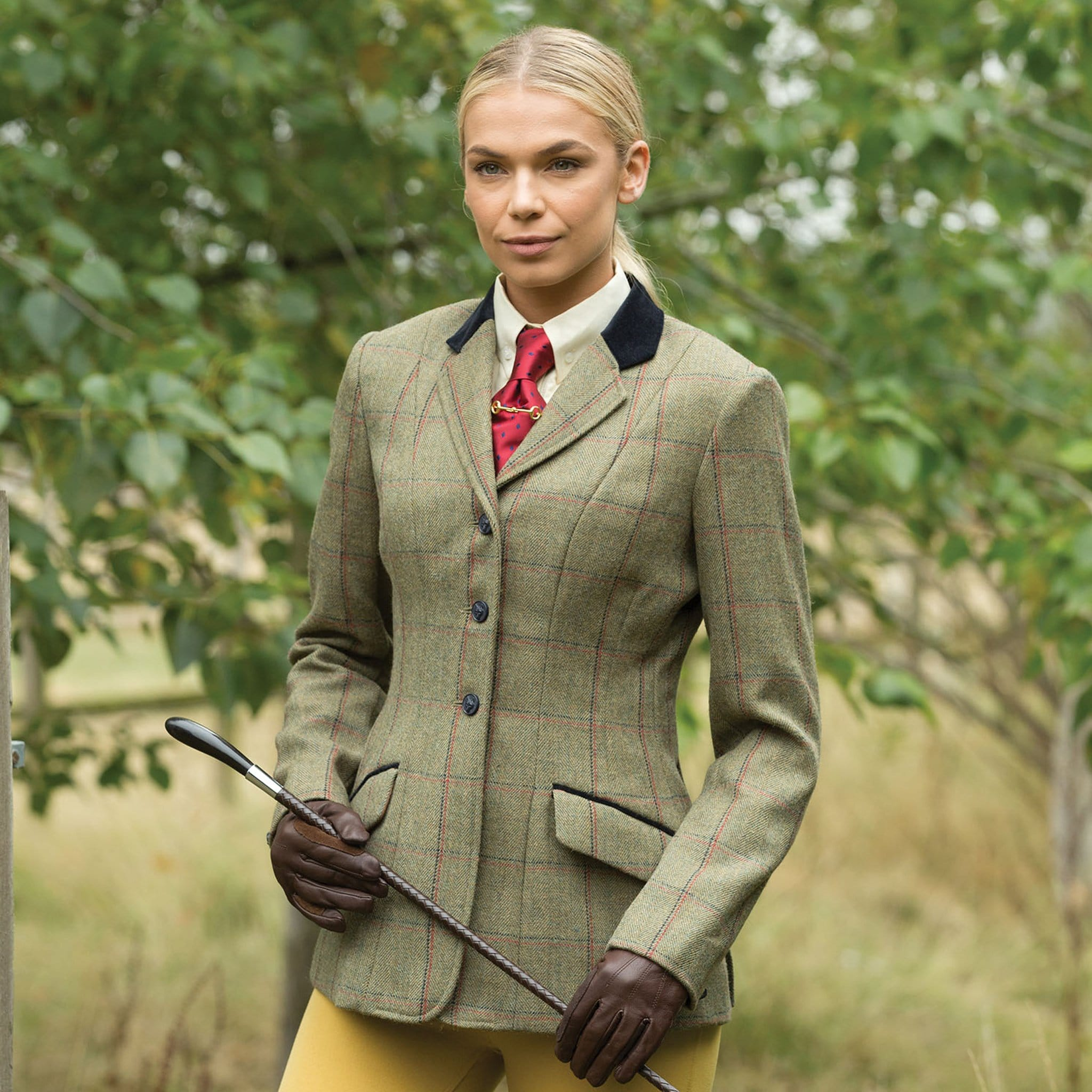 Equetech Launton Deluxe Tweed Riding Jacket LAJ