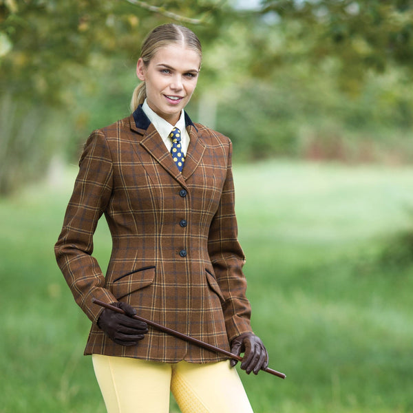 Equetech Marlow Deluxe Tweed Riding Jacket MAV