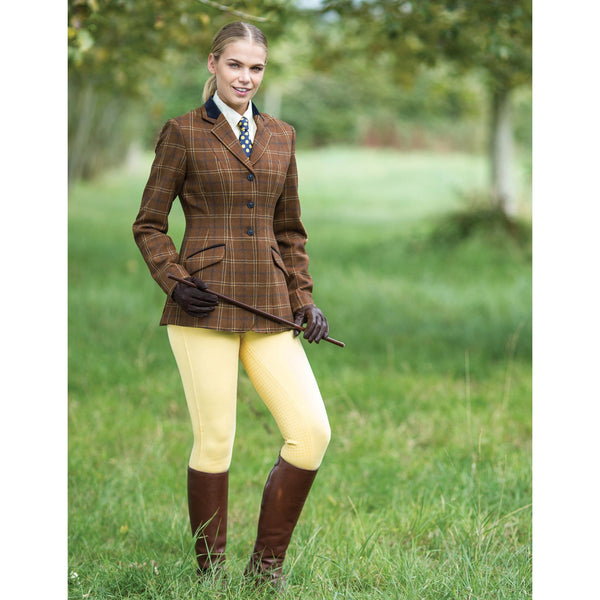 Equetech Marlow Deluxe Tweed Riding Jacket Lifestyle MAV