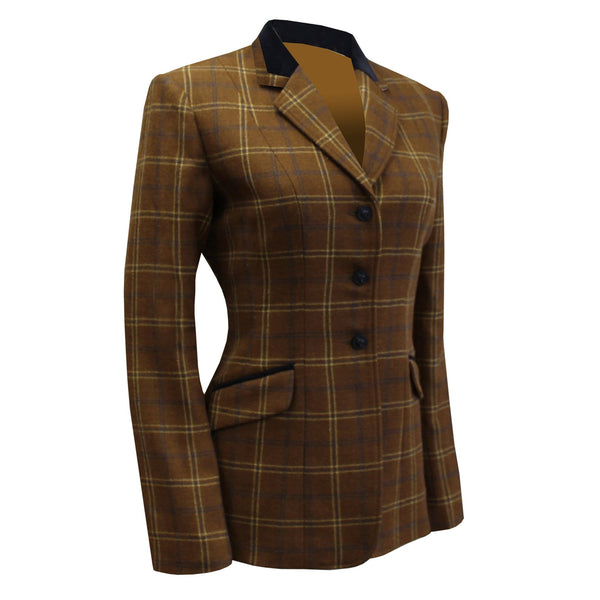 Equetech Marlow Deluxe Tweed Riding Jacket Studio MAV