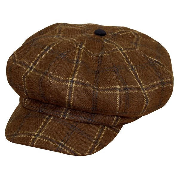 Equetech Marlow Tweed Baker Boy Cap Studio MFC