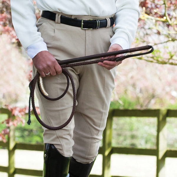 Equetech Men's Foxhunter Breeches Beige Lifestyle FOB
