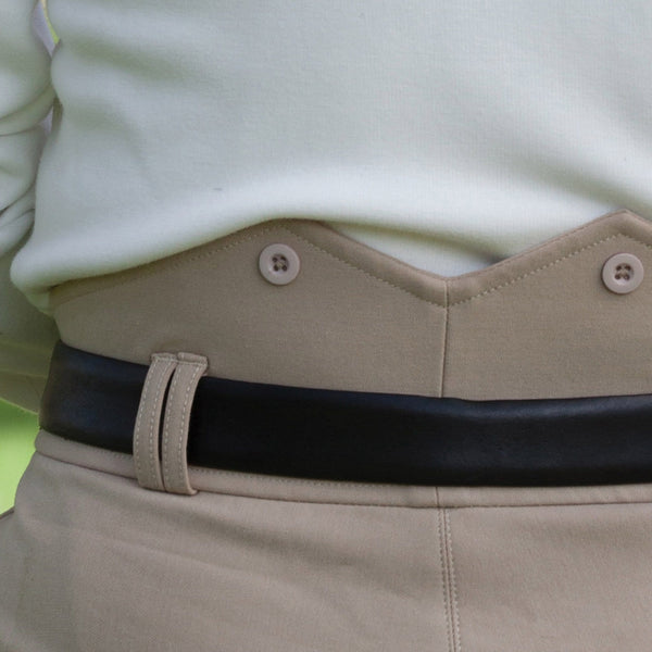 Equetech Men's Foxhunter Breeches Beige Waistband FOB