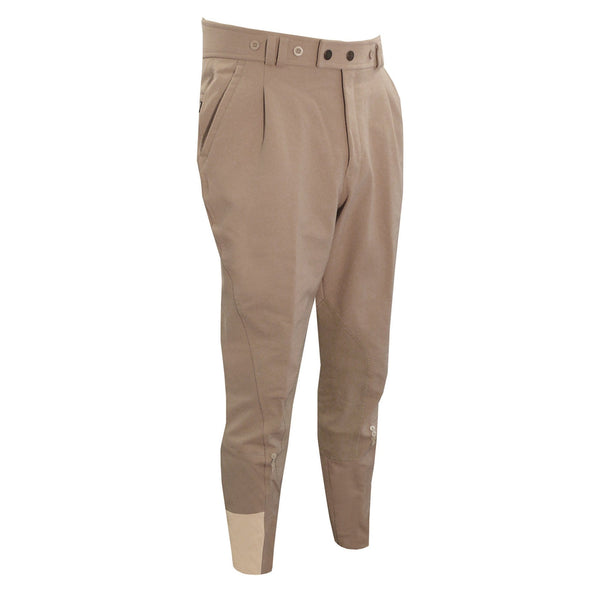 Equetech Men's Foxhunter Breeches Beige Studio FOB