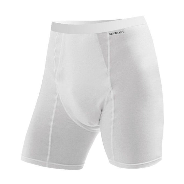 Equetech Men's Boxers White MB