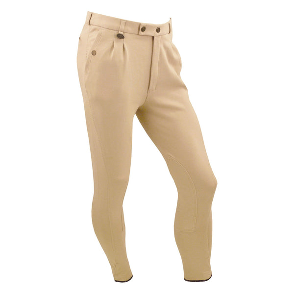 Equetech Men's Casual Breeches Beige Studio MCB BE