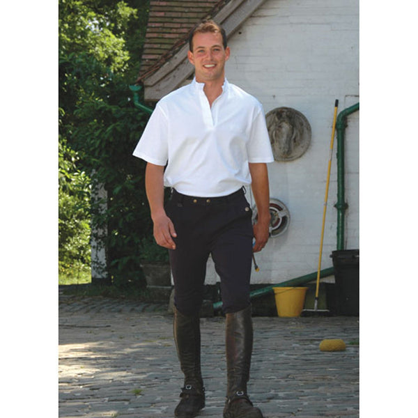 Equetech Men's Casual Breeches Black Lifestyle MCB