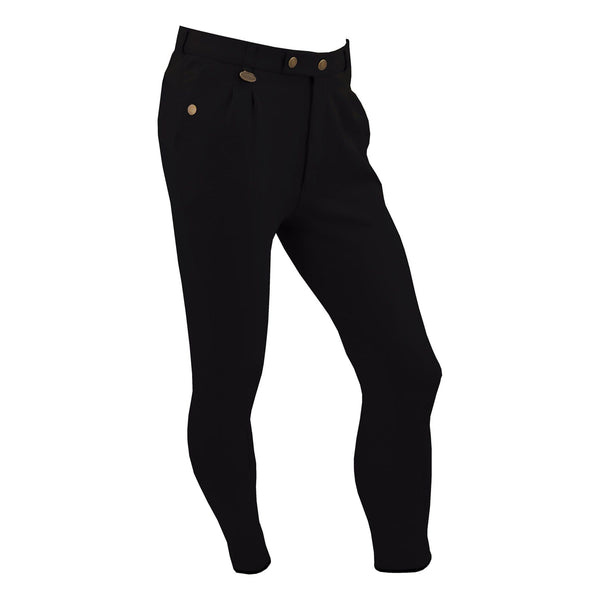 Equetech Men's Casual Breeches Black Studio MCB