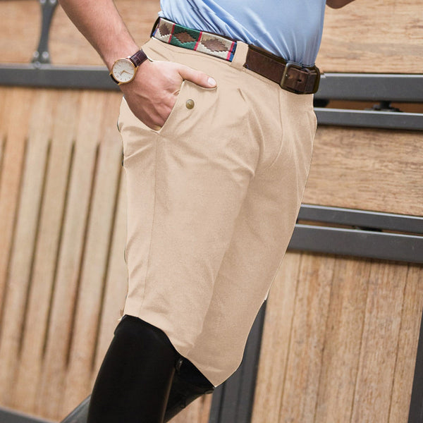 Equetech Men's Rival Performance Breeches Beige RKS