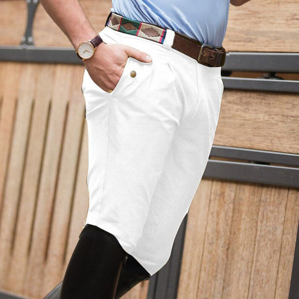 Equetech Men's Rival KS Breeches in White RKS WH