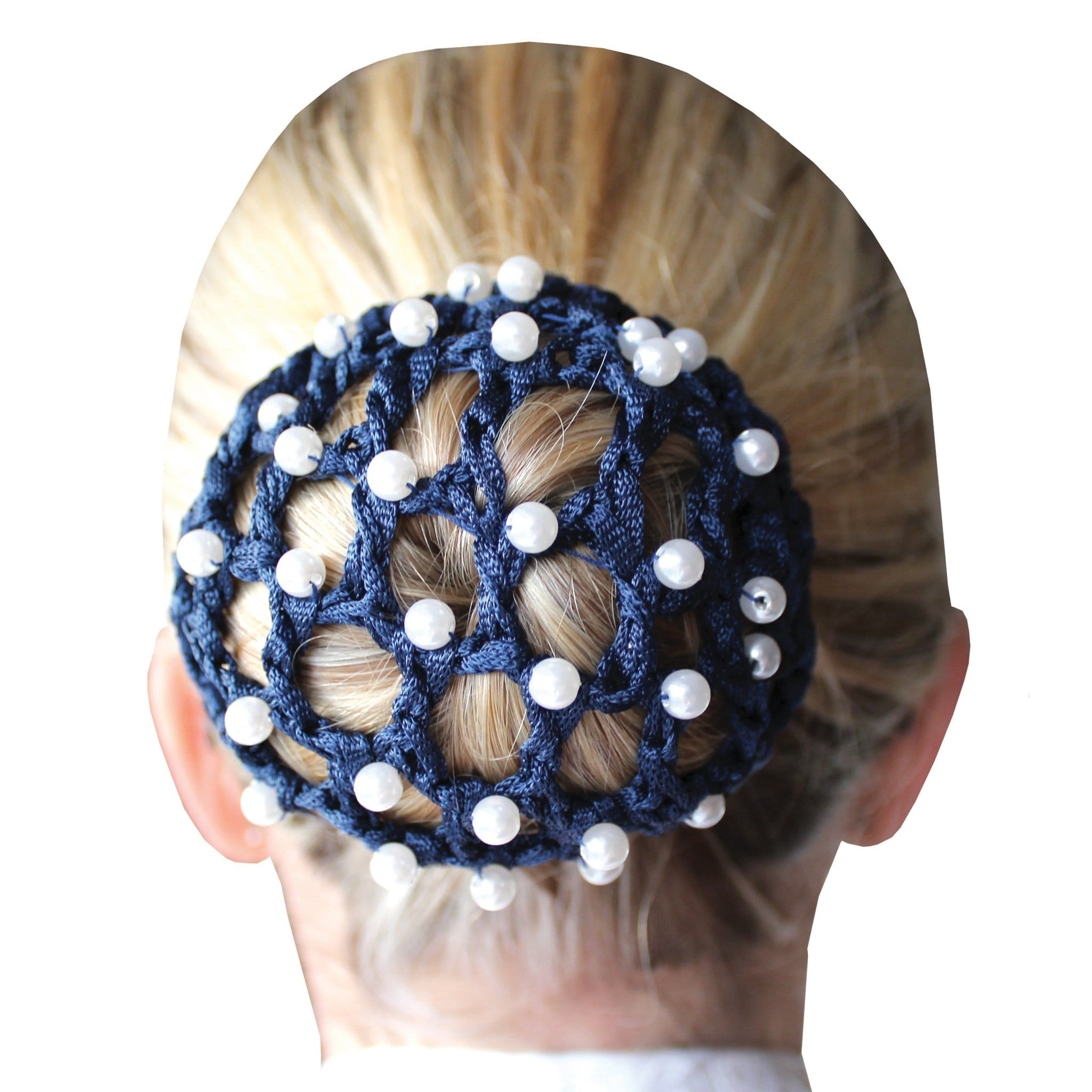 Equetech Pearl Bun Net in Navy PBN NY