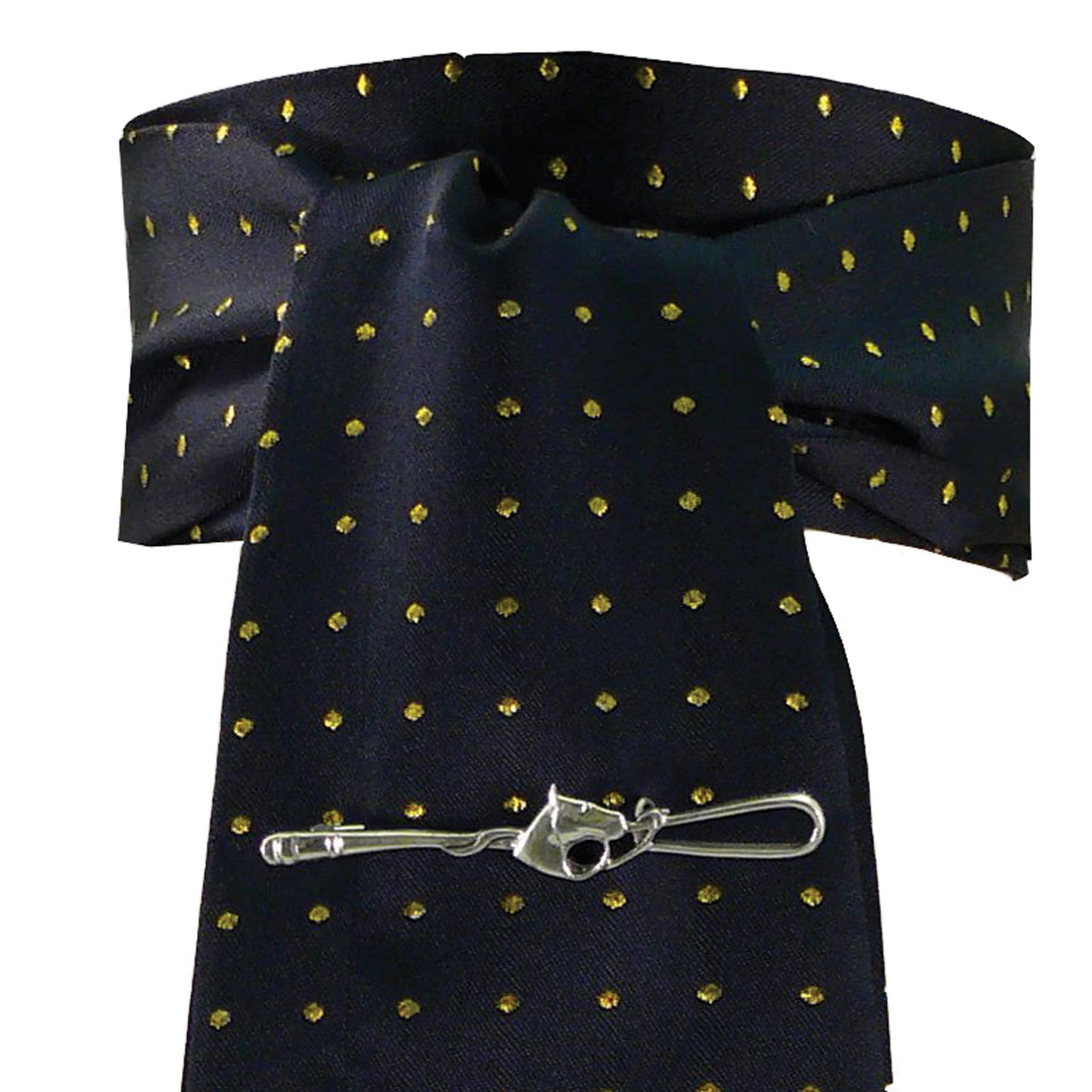 Equetech Pin Spot Stock EPN Navy and Gold