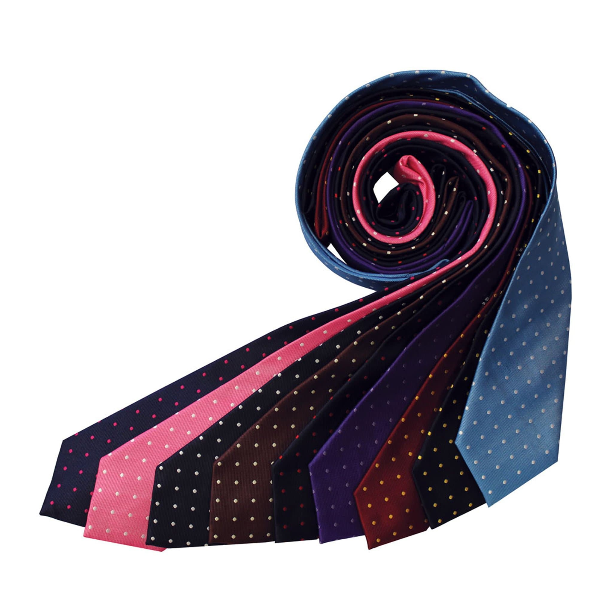 Equetech Polka Dot Show Tie TLS All Colours