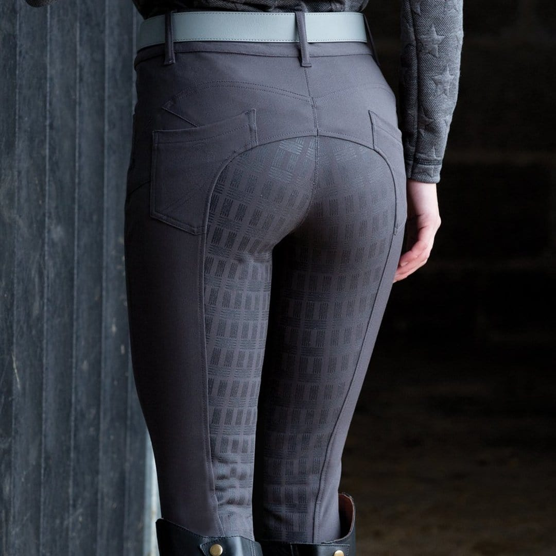 Equetech Shaper Breeches Back in Grey SHA